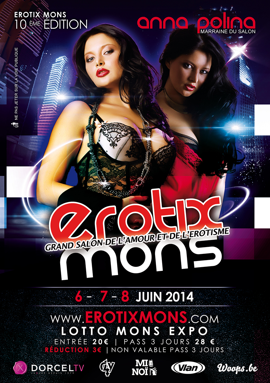 Flyers Erotix Mons 2014